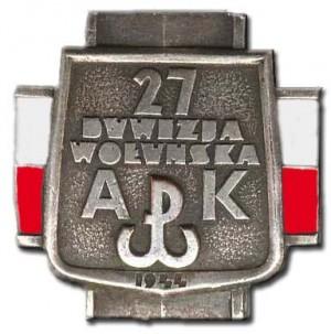 27 Wołyńska Dywizja Piechoty AK
